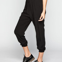 Patrons Of Peace Womens Pull-On Pants Black  In Sizes