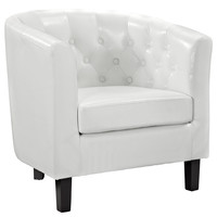 Cheer Armchair in White
