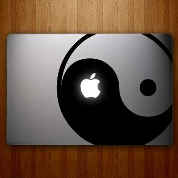 Yin Yang Macbook Decal Laptop Sticker Decorative Computer Accessory Electronics Vinyl Stickers Mac Book Pro Skins Apple Decals Skin
