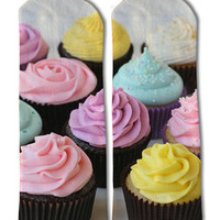 Cupcakes Barely Show Socks - Cupcakes Barely Show Socks