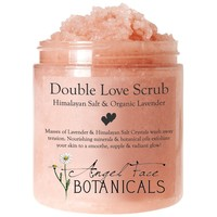 Double Love Body Scrub with Himalayan Salt & Organic Lavender - Angel Face Botanicals Web Store