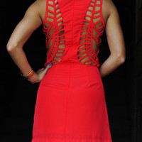 Heart Racing Dress: Bright Red | Hope's