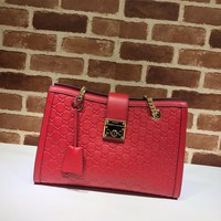 Gucci Padlock Gucci Signature medium shoulder bag