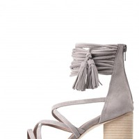 Jeffrey Campbell Shoes DESPINA Heels in Taupe