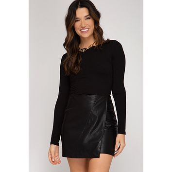 Until All Hours Mini Skirt