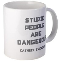 Stupid People Are Dangerous Mug> The Hunger Games