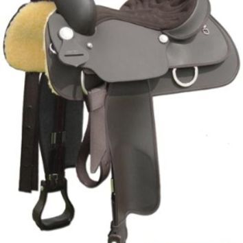 Wintec Western Saddle - Full QH Bars - Adams Horse and Pet Supply