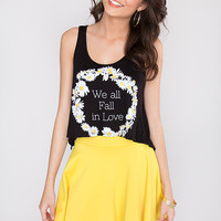 We All Fall In Love Daisy Top
