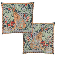 Morris Hare Tapestry Cushion Cover