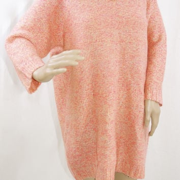Peachy Sweater Dress