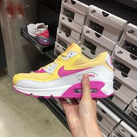 Nike Air Max 90 cushioning casual sports running shoes