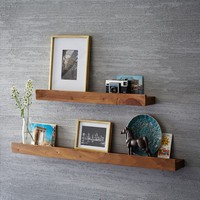 Reclaimed Pine Picture Ledge