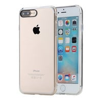 Pure Series Hard Back case for iPhone 7/ 7 Plus Crystal Clear Phone case for iPhone7 hard back case with soft edge -JMJewelry