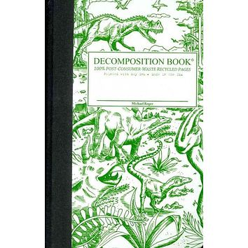 Dinosaurs Pocket-size Decomposition Book: College-ruled Composition Notebook With 100% Post-consumer-waste Recycled Pages