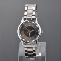 Womens Steel Band Quartz Wrist Watches, Rhinestones Couple Watches, Timepieces for Lovers [9221472772]