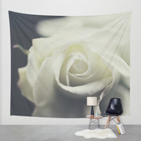 rose Wall Tapestry by Ingrid Beddoes