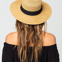 Sonoma Straw Boater Hat | Hats