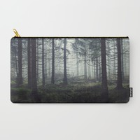 Through The Trees Carry-All Pouch by Tordis Kayma | Society6
