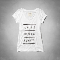Positive Message Graphic Tee