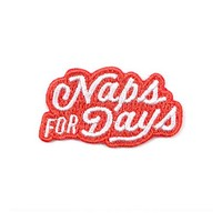 Naps For Days Mini Sticker Patch