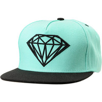 Diamond Supply Brilliant Mint & Black Snapback Hat at Zumiez : PDP