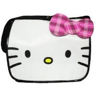 Hello Kitty Messenger Bag with pink strip bow