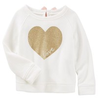 Sparkle Heart Pullover