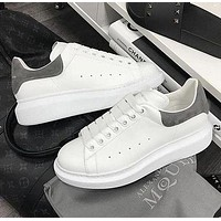Alexander McQueen hot sale high quality platform men women sneakers Shoes