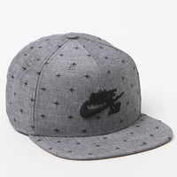 Nike SB Chambray Phillips Pro Snapback Hat - Mens Backpack - Blue - One
