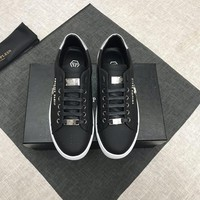 PHILIPP PLEIN Men's New Fashion Casual Shoes Sneaker Sport Running Shoes