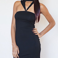 Asia Cocktail Dress (Black)