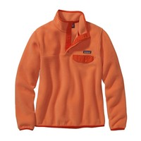 Patagonia Women's Lightweight Synchilla® Snap-T® Pullover | Peach Sherbet