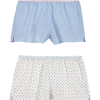 H&M 2-pack Cotton Pajama Shorts $17.99