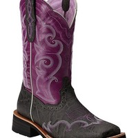Ariat Unbridled Rally Cowgirl Boots - Square Toe - Sheplers