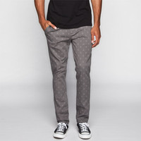 Rsq London Mens Skinny Chino Pants Grey Combo  In Sizes