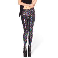 Mermaid Scale Print Leggings