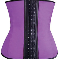 Gym Work Out Waist Trainers Purple Md
