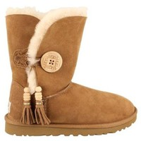 UGG Australia Women's Bailey Charms Boots,Chestnut,US 10 US