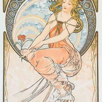 Alphonse Mucha The Arts - Painting - Poster 11x17