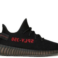 PEAP3 Adidas Yeezy 350 Boost V2 Sply-350 Bred Black/ Red Sport Running Shoes