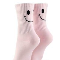 Happy Face Crew Socks