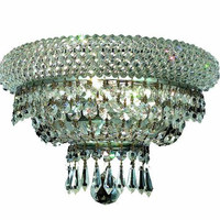 Adele - Wall Sconce (2 Light Modern Crystal Wall Sconce) - 1533W12