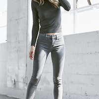 Bullhead Denim Co. Shady Gray Dreamy Mid Rise Jeggings at PacSun.com