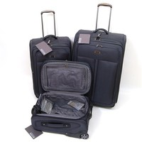 3 Piece Luggage Set by Kenneth Cole - Front Row Collection