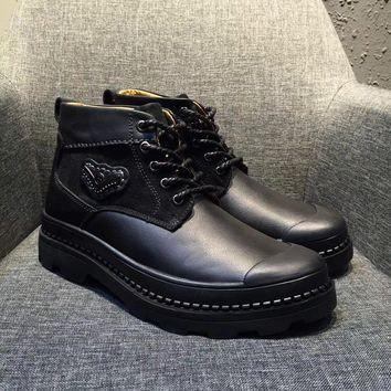 Bally Charil Men's Black Calf Boot - Sale