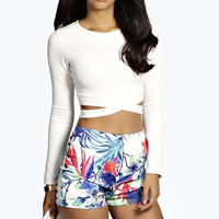Helen Tropical Floral Hotpants