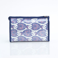 Fish Beach Cosmetic Pouch