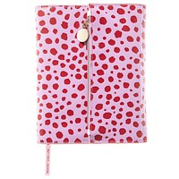 Animal Print Clutch Journal in Pink