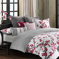 N Natori Bedding, Cherry Blossom Comforter Sets and Duvet Covers - Bedding Collections - Bed & Bath - Macy's