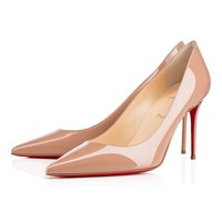 Decollete 554 85mm Nude Patent Leather